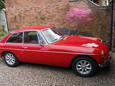 "Beautiful MGB GT very rare early car 1966 ""D"" registartion"