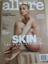 2018 Allure magazine The Beauty Expert The Complete Skin Guide Adwoa Aboah cover