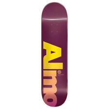 "Almost Skateboard Deck Fall Off Logo Magenta 8.0"" x 31.6"""