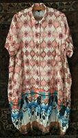 Curate (Trelise Cooper) Linen Shirt Dress Size L