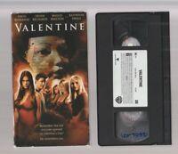 VALENTINE Horror VHS video Movie Gore Cult Slasher Sex DENISE RICHARDS THE