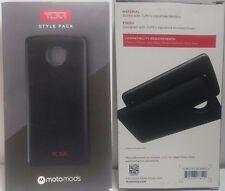 New Original TUMI Style Pack Moto Mods Black Case Motorola Z Droid Z Force Droid