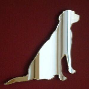 Labrador Sitting Shaped Mirrors (Shatterproof Acrylic mirrors, Several Sizes)