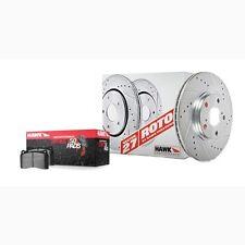 Disc Brake Pad and Rotor Kit-Sector 27 Brake Kits Front fits 93-97 Civic del Sol
