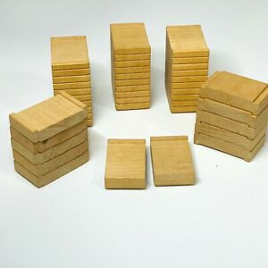 Thomas & Friends Wooden Railway Lot of 15 Track Risers: 3 x 2.5in / 12 x 1.2cm