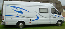 Mercedes Sprinter Large Vinyl Motorhome Camper Conversion Van Decals Graphic Kit
