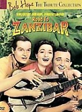 ROAD TO ZANZIBAR DVD (1941) Bing Crosby Bob Hope NEW