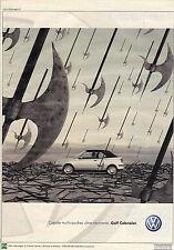 PUBLICITE ADVERTISING  2000   VOLKSWAGEN    la GOF Cabriolet capote multicouche