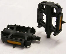 "MOUNTAIN BIKE MTB PEDALS 1/2"" with REFLECTORS"