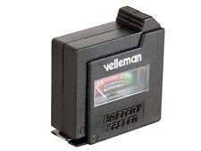 Velleman Battery Tester for AAA (LR3), AA (LR6), C (LR14), D (LR20) (28E067)