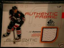 SP Game Used  Edition J.P. DUMONT AUTH. FABRICS JERSEY