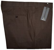 IMPERFECT $325 NEW ZANELLA NORDSTROM 120'S BROWN DRESS PANTS 42