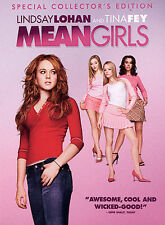 Mean Girls (DVD, 2004, Full Screen Special Collectors Edition) Brand New