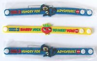 Cloudy with a Chance of Meatballs 2 AMC Theaters Promo Wristbands Lot of 3 NEW