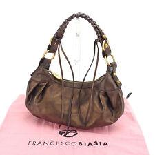 Auth Francesco Biasia Shoulder Bag used J14245