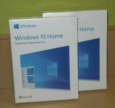 BRAND NEW MICROSOFT WINDOWS 10 HOME HAJ-00052 32/64 FULL VERSION *RETAIL SEALED*