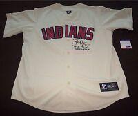 Tyler Naquin Cleveland Indians Autograph Signed Jersey w Inscription PSA/DNA COA
