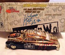 Racing Champions Hollywood Hogan gold car