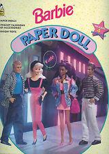 1994 Golden- Barbie Paper Doll #2018