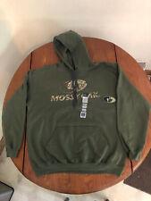 Mossy Oak New Xl Camo Military Green Adult Pullover Hooded Sweatshirt