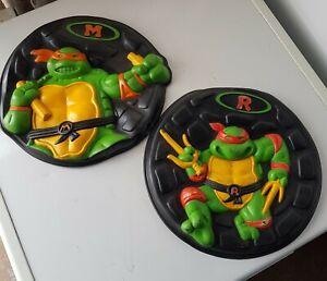 Vintage TMNT Teenage Mutant Ninja Hero Turtles Goops Frisbee 90s Retro Hasbro