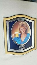 Vintage 1983 Michelob Beer Back Bar Mirror Sign Anheuser Busch Budweiser Bud 80s