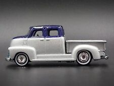 1950's CHEVROLET CHEVY PICKUP TRUCK 1:64 COLLECTIBLE DIORAMA DIECAST MODEL CAR