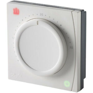Danfoss RET1000MS Dial Room Thermostat 230V White [Energy Class A]