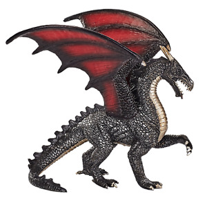 Mojo STEEL DRAGON Fantasy action toys figure play models mythical creature