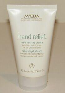 Aveda Hand Relief Moisturizing Creme Cream 4.2 Oz 125 mL Full Size