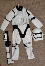 Disney Store Star Wars Stormtrooper Costume Kids 7/8 Nwt