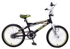 """Kent Bone Collector 20"""" Wheel BMX Freestyler Kids Bike 360 Gyro Rotor Black 7+"""
