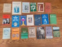 LOT OF 20 VINTAGE CATHOLIC RELIGIOUS BOOKLETS PAMPHLETS Catholicism Christian L6