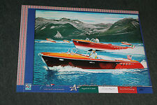 2012 signed poster from the Lake Tahoe Wooden Boat Concours by Roy E. Dryer III