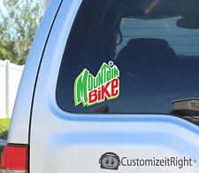 Mountain Bike Sticker Decal wheel handle bars seat shirt trailer racks bandit