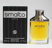 SMALTO by Francesco Smalto eau de toilette pour homme 50 ml 1.7 oz in box sealed