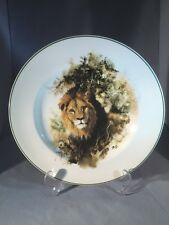 Large Wedgwood David Shepherd Lion Wall Charger Plate