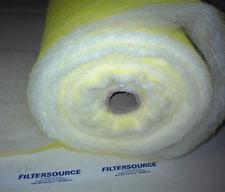 "Paint Spray Booth Floor Filter Roll-36""x300Ft-Premium"