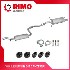 Full exhaust from CAT VOLVO S40 V40 1.6i 1.8i 16V 1996-2000 Saloon Estate