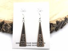 Native American Jewelry Earrings Sterling Silver Earrings .925