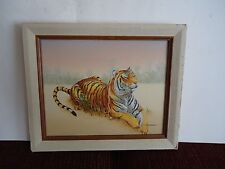 """C. Carson Original Oil """"Tiger"""""""