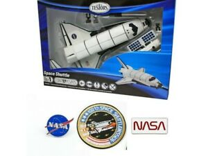 TESTORS SPACE SHUTTLE 1:180 SUPERCRAFT MODEL KIT 650048 NASA PINS SHUTTLE PATCH