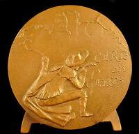 Medal Nicolas Sanson Cartographer the Card of Saplings Cartographer Xvii Medal
