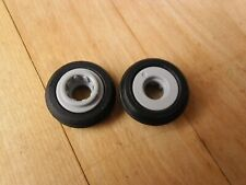 2009 Playmobil Plane Spares, Rear Tyres & Rims - 3185