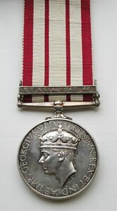 NAVAL GENERAL SERVICE MEDAL S.E.ASIA 1945-46 CLASP TO OFFICER IN THE RNVR