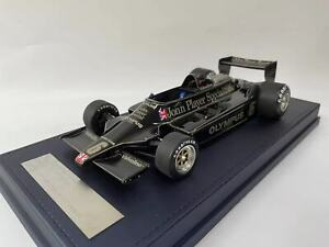 1/18 AB Models  Lotus Type 49 of Ronnie Peterson 1978 JPS Leather Base 30 pcs