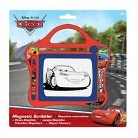 Disney Pixar Cars Kids Boys Small Magnetic Scribbler Sketch Board Travel Toy