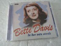 Bette Davis In Her Own Words (BBC Archive) by Davis, Bette Audio Book Rare