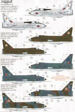 Xtradecal 1/72 EE/BAC Lightning T.4/T.5 parte 2 # 72201