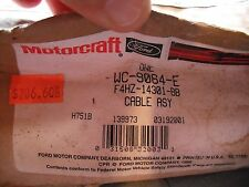 NOS OEM FORD CABLE ASM F4HZ14301BB